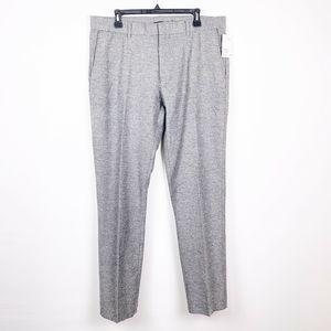 H&M Wool Blend Men's Trousers Pants Light Grey
